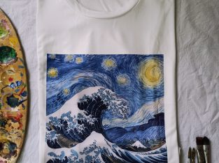 Customised Starry night T-Shirt
