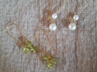 KT's handcrafted earrings