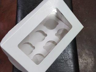 Cavity cupcake boxes