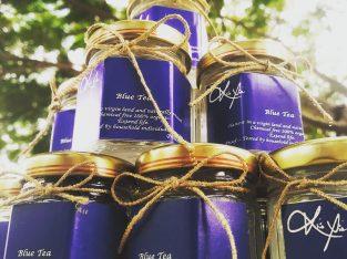 Wild crafted blue tea
