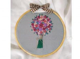 Customised embroidery works