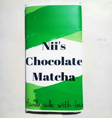Nii's Chocolate Matcha. (Handmade with love)