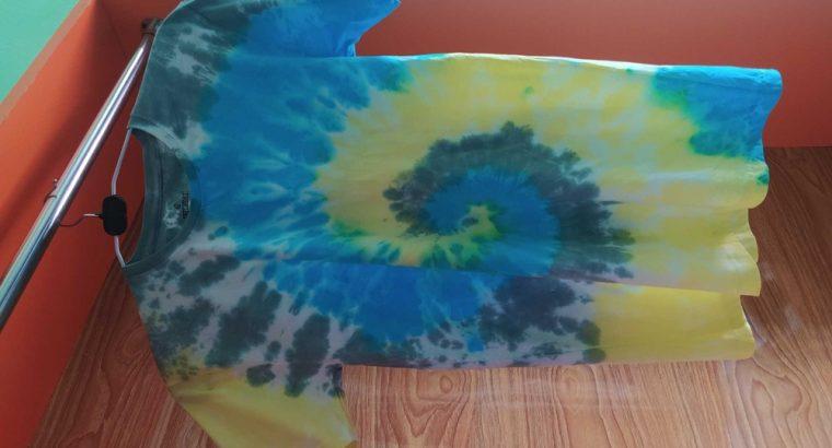 Handmade tie dye