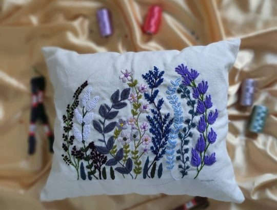 Embroidery art & craft.